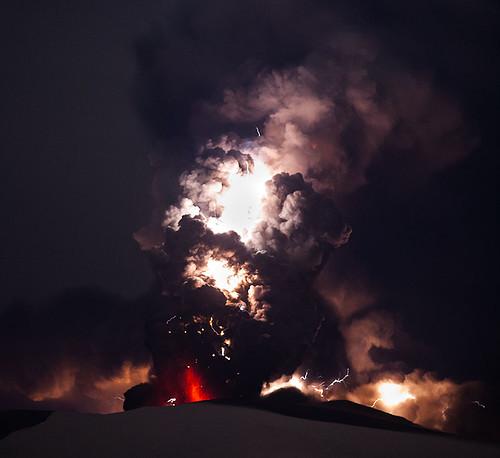 Eyjafjallajokull volcano eruption