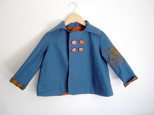 Octo Jacket- Blue Front