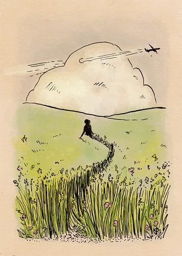 Illustration Friday: Trail 1