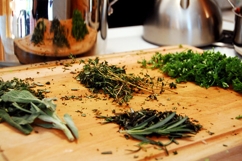 Parsley, sage, rosemary and thyme.