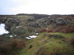Scale Cross, Whinstone Quarries