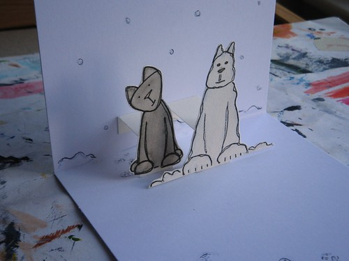 snow kitty - inside detail 2