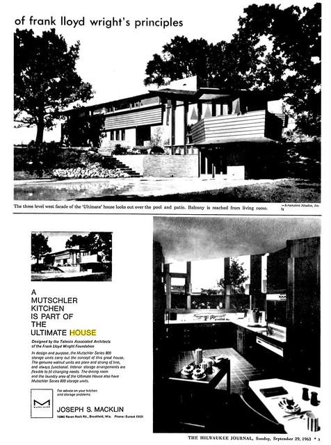 Milwaukee Journal - Ultimate House - 1963 (3 of 11)