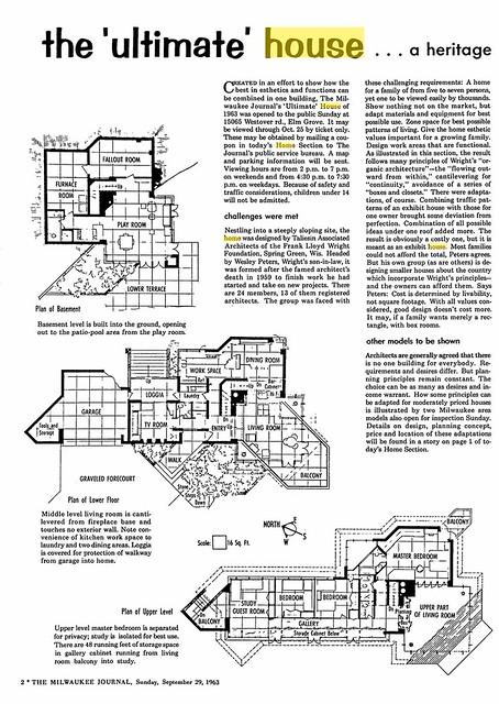 Milwaukee Journal - Ultimate House - 1963 (2 of 11)