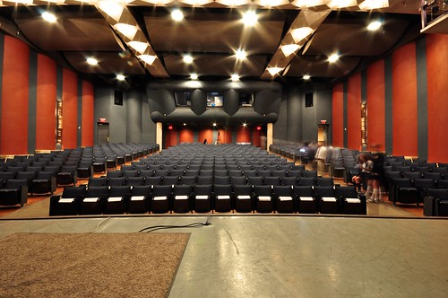 Issues Day - St. Mary's Hall Empty Theater