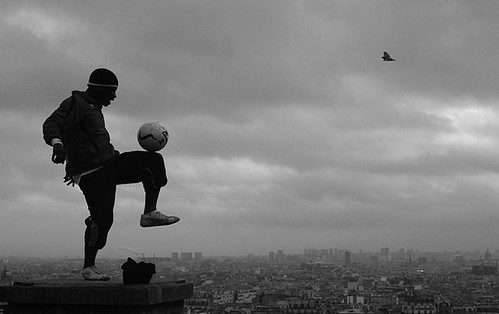 Soccer on roofs of Paris accelerated learning kaizen language hunting