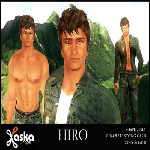 ASKA Shapes - Hiro