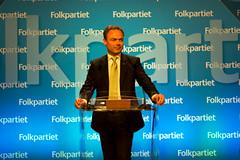 Jan Björklund talar på partirådet i Uppsala 2010