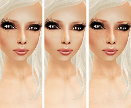 [TS] Naturelle Skin Line - freckled Blonde, natural, red