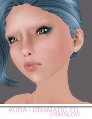 Aura Dramatic Ed. - Grimmjow Makeup