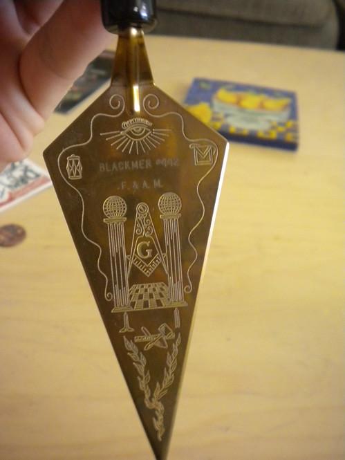 Masonic Trowel