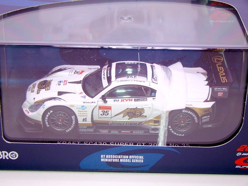 EBBRO KRAFT SC430 SUPER GT 2009 NO (9)