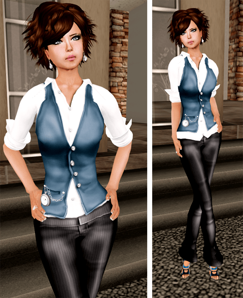 NEW! -Phoenix Rising- Risk Femme (Navy)