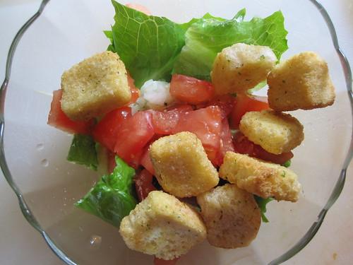 First Garden Salad