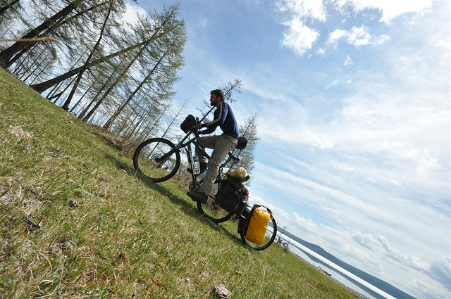 Riding cross-country