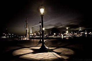 Paris à la nuit