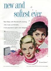 1957 - Kotex Advertisement