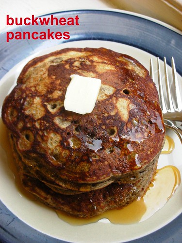 winter buckwheat pancakes
