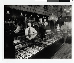 Interior of Bright's Jewelry Store, Duluth