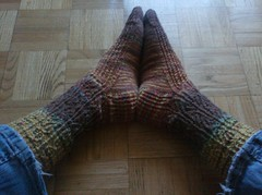 March Mystery Socks 2010 - Complete