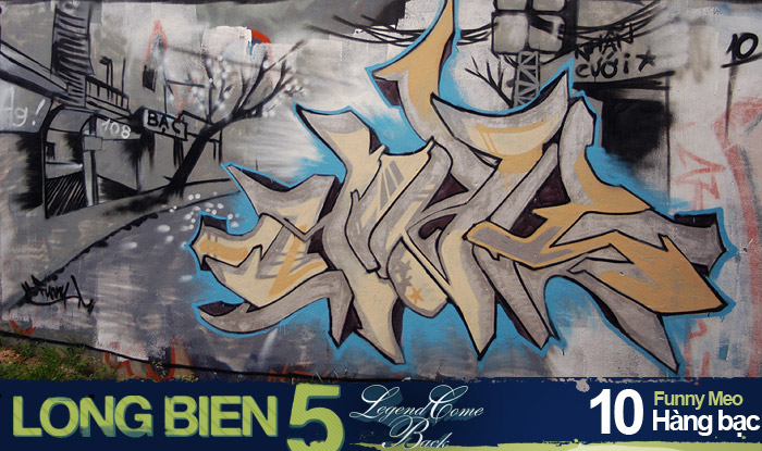Long Biên 5 Graffiti Battle 8