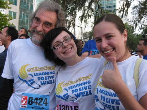 Chuck, Sheila, and Sherry at start