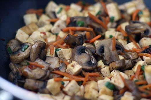 Szechuan Style Tofu