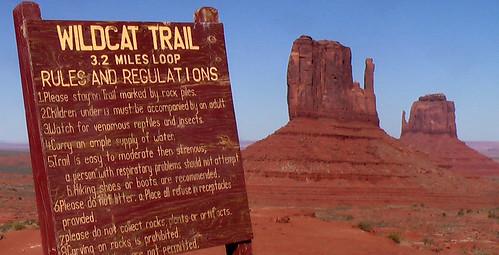 Wildcat Trail, Monument Valley