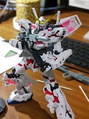 BANDAI MG RX-0 ユニコーンガンダム(デストロイモード)