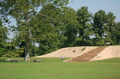 Platform Mound, Chucalissa, Memphis, Tenn.
