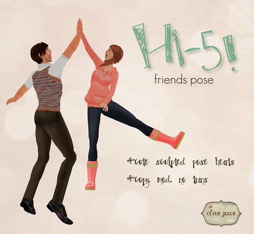 hi-5! friends pose