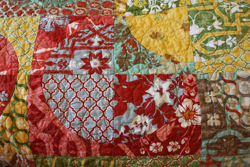 Blue and Red Circle