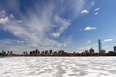 Boston Winter View