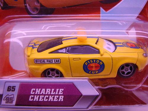 Disney CARS Lenticular  Charlie Checker (2)