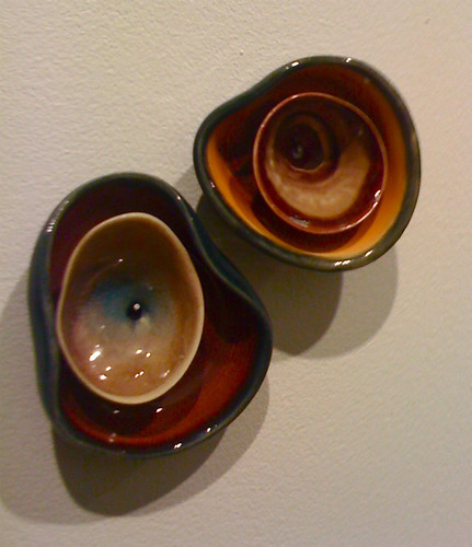 Ceramic work by Jessica Zoller