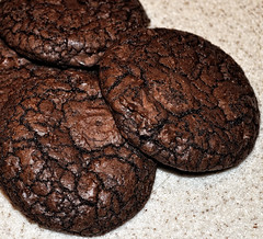 Dark Chocolate Mocha Cookies