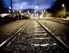 Keep OFF the tracks!