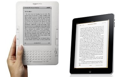 The Kindle and the iPad.