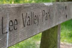 Lee Vallley Park Bench