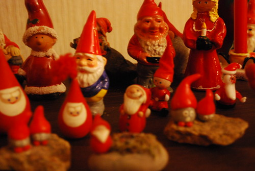 Gran's tomte collection