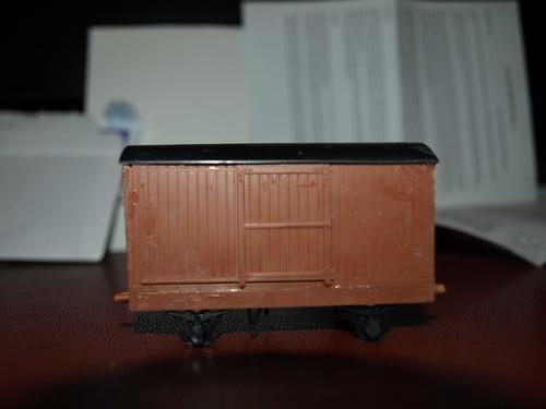 Mis-Assembled LNER Goods Van