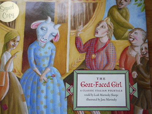 The Goat-Faced Girl - Cover