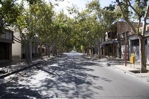 Quiet San Juan street