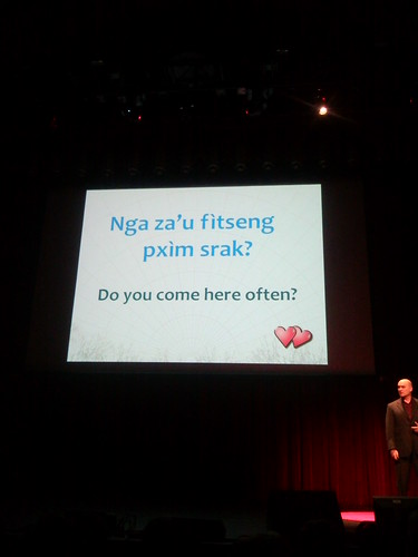 Na'vi pick up line for beginners #avatar #tedxusc