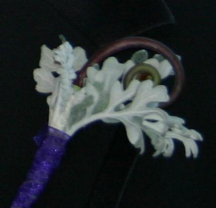 Wedding Weekend - Misc - Fiddlehead Boutonniere