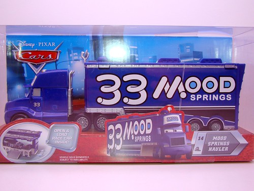 disney cars mood springs hauler