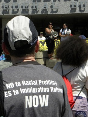 no to racial profiling