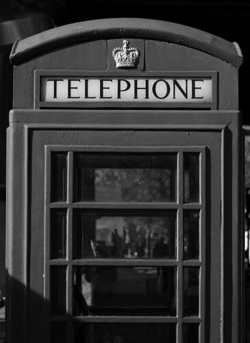 K6 Telephone Box, Embankment, London