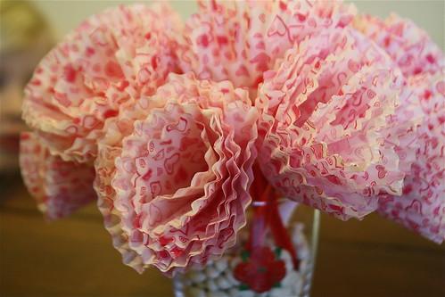 Cupcake Liner Bouquet