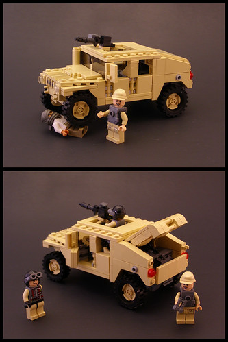Lego Humvee With Instructions The Brothers Brick The Brothers Brick